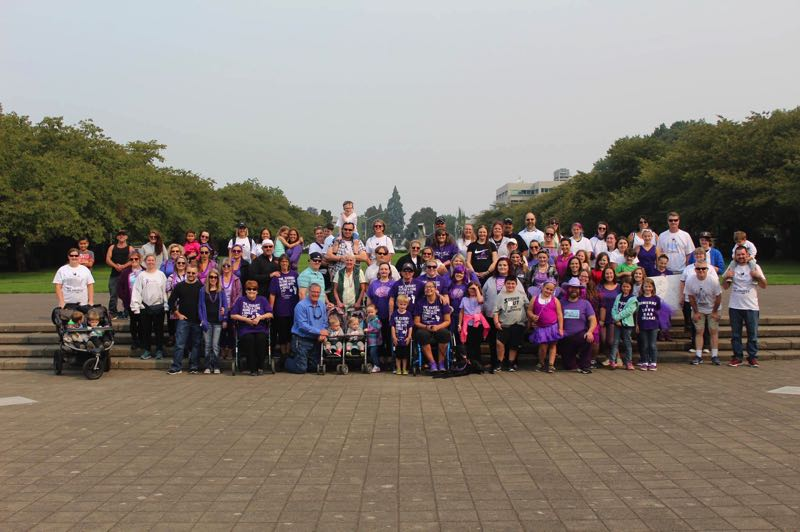 COURTESY PHOTO: TAYLOR GUSTAFSON - People can wear purple to help raise awareness during the Conquer Chiari Walk Across America.