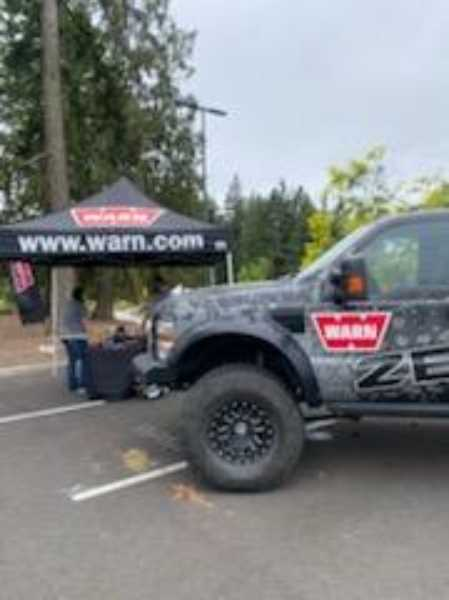 COURTESY PHOTO: CLACKAMAS WORKFORCE PARTNERSHIP - The July Drive Thru Job Fair at Clackamas Community College. Four more career fairs are coming to Clackamas Town Center mall in September, startng Sept 8 with a focus on construction.