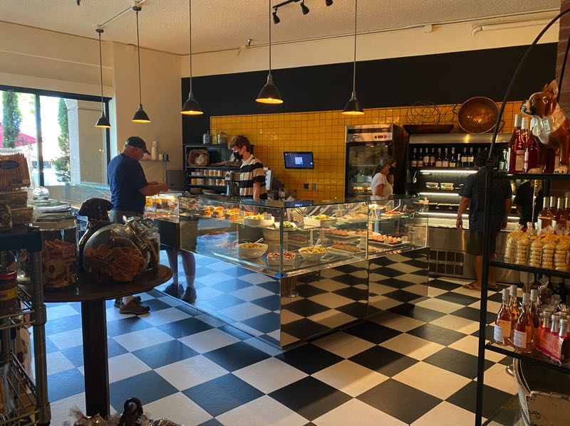 COURTESY PHOTO: SHARI NEWMAN - Nicoletta's Table and Marketplace expanded the deli to offer more Italian street food.