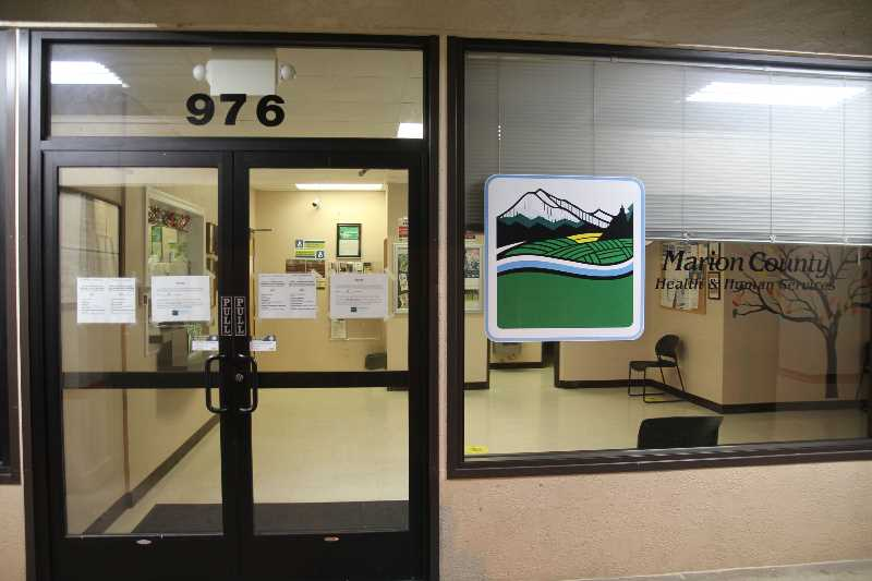PMG PHOTO: JUSTIN MUCH - Tucked back behind the retail and service businesses of Woodburn's North Pacific Plaza is the Marion County Health & Human Services Woodburn office, which has been expanded to offer on-site mental health couselors., Woodburn Independent - News