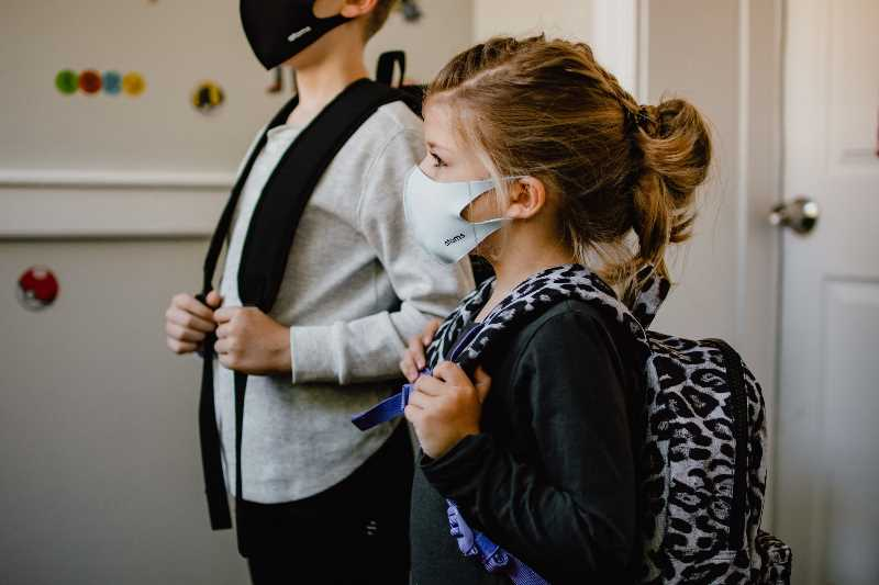 COURTESY PHOTO: KELLY SIKKEMA - At this time, masks will be required indoors at Oregon schools this fall, but parents and some school district leaders are pushing back against that requirement.