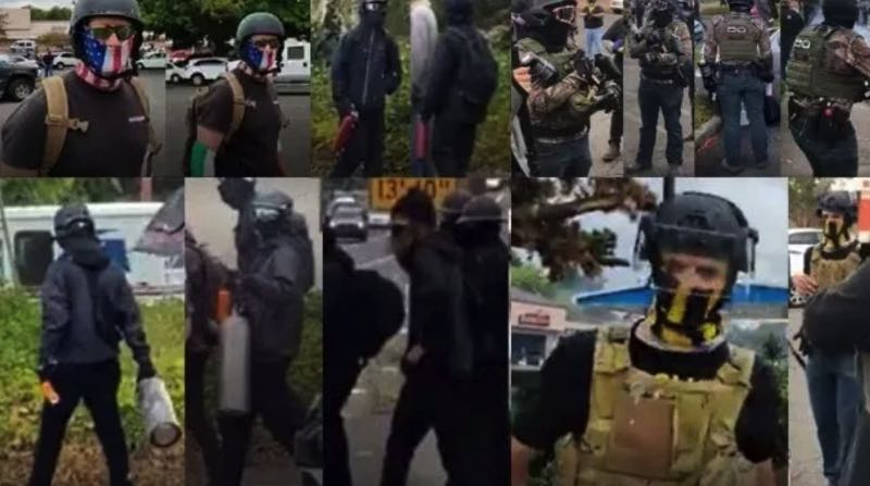 COURTESY PHOTOS: PPB - Photos of suspects released by the Portland Police Bureau.
