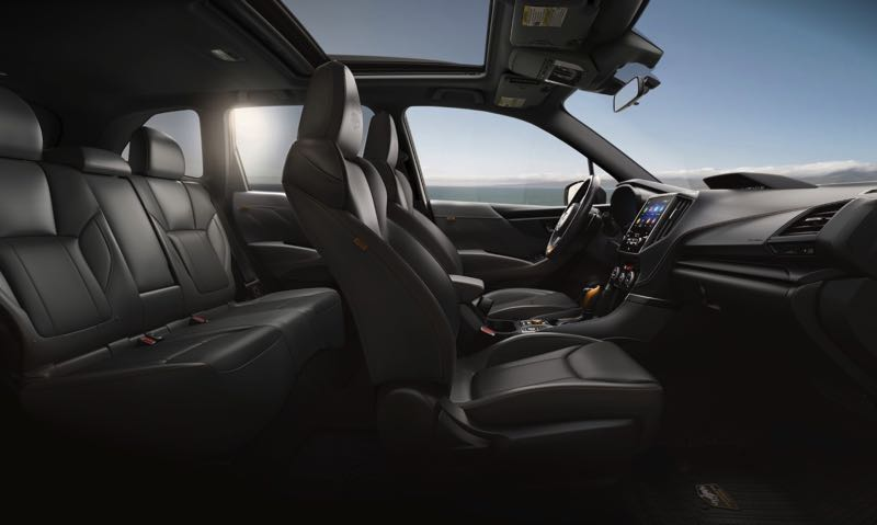 CONTRIBUTED PHOTO: SUBARU OF AMERICA - The interior of the new Wilderness edition has all the upgrades of the 2022 Subaru Forester.