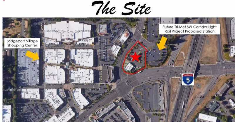 COURTESY GRAPHIC: GOOGLE IMAGE/ IN-N-OUT BURGER - Site of the old Village Inn site next to Bridgeport Village mall which In-n-Out Burger just bought.