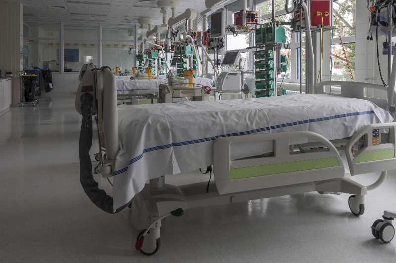 COURTESY PHOTO: DREAMSTIME - Hospital intensive care beds are in short supply across Oregon as the delta variant sweeps through the state. Two Portland hospitals announced they will bring in temporary morgue trucks to store COVID-19 patients.