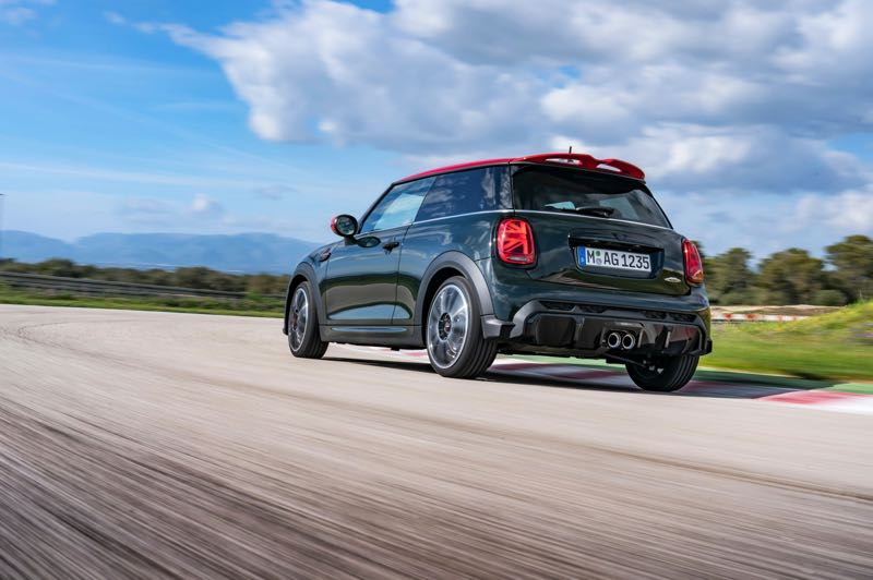 COURTESY PHOTO: BMW - The 2022 MINI John Cooper Works is named after the famed race car designed that turned the original innovative affordable family car into a track legend in 1960's England.