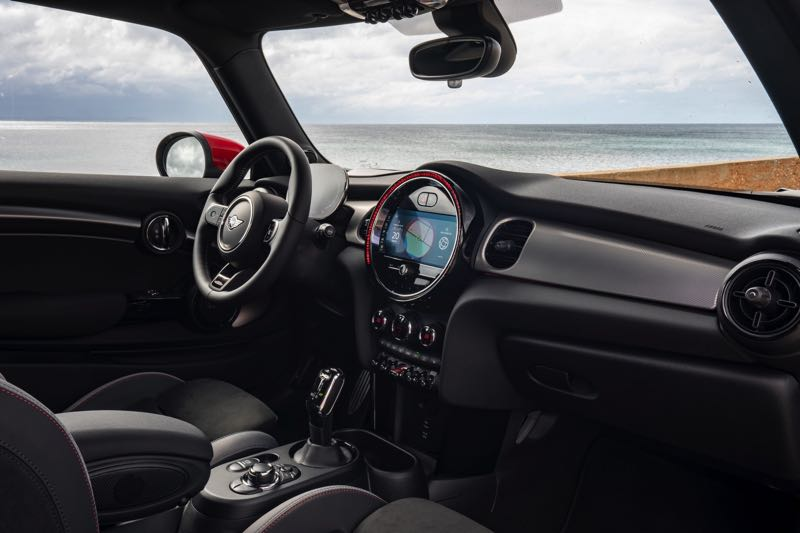 COURTESY PHOTO: BMW - The interiors of all MINI models are surprisingly roomy given their small sizes. That is the result of the sticking with the original boxy design and transverse-mounted front-wheel-drive engine layout.