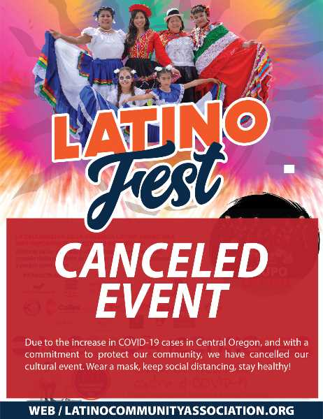 PHOTO COURTESY OF LATINO COMMUNITY ASSOCIATION - The Latino Community Association has canceled the Saturday, Sept. 11 Latino Fest in Madras as a result of increased COVID-19 cases in Central Oregon.