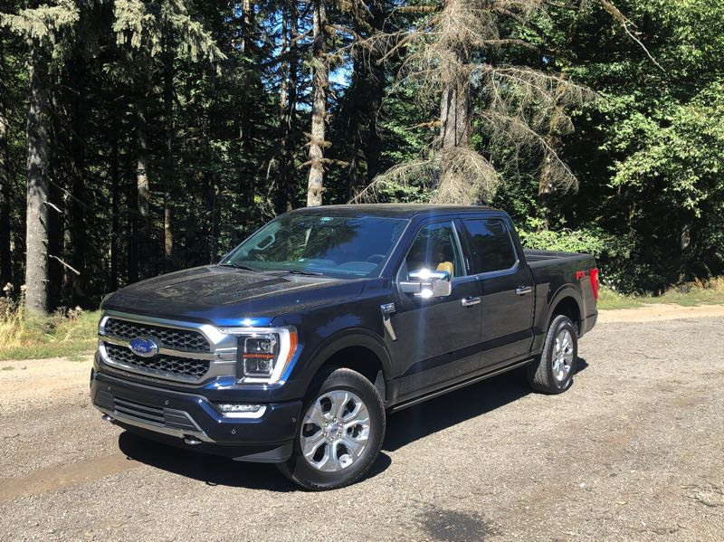 PMG PHOTO: JEFF ZURSCHMEIDE - The 2021 Ford F-150 is the current versin of the best selling pickup of all time and for good reason. It can be ordered in many configurations and all can be customized.