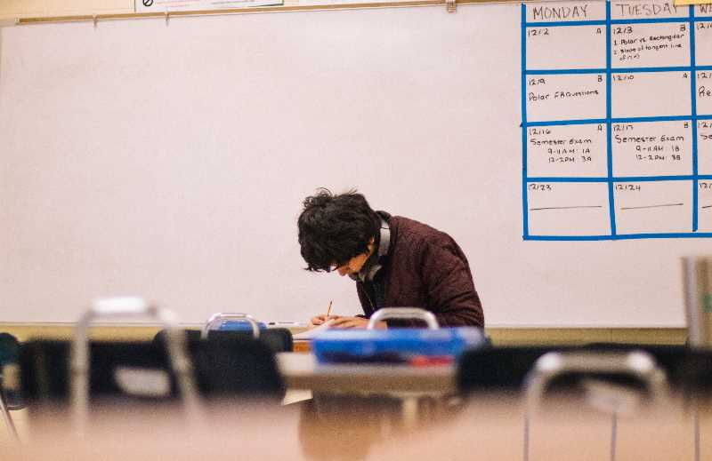 COURTESY PHOTO: UNSPLASH  - This year Gresham-Barlow schools will dedicate 50 minutes a week for middle and high school students to focus on mental health.