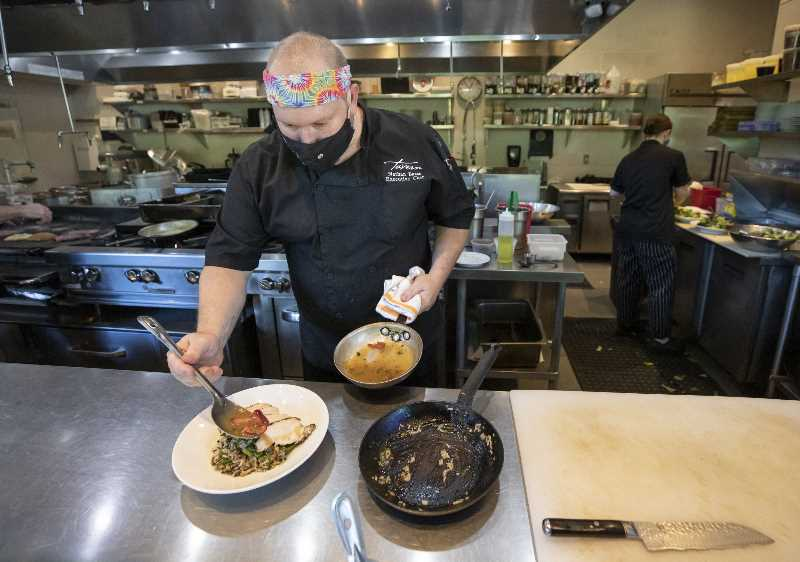 PMG FILE PHOTO  - There are varying theories for why demand has slacked for local hospitality jobs, but some believe the situation will change after unemployment benefits expired this month.