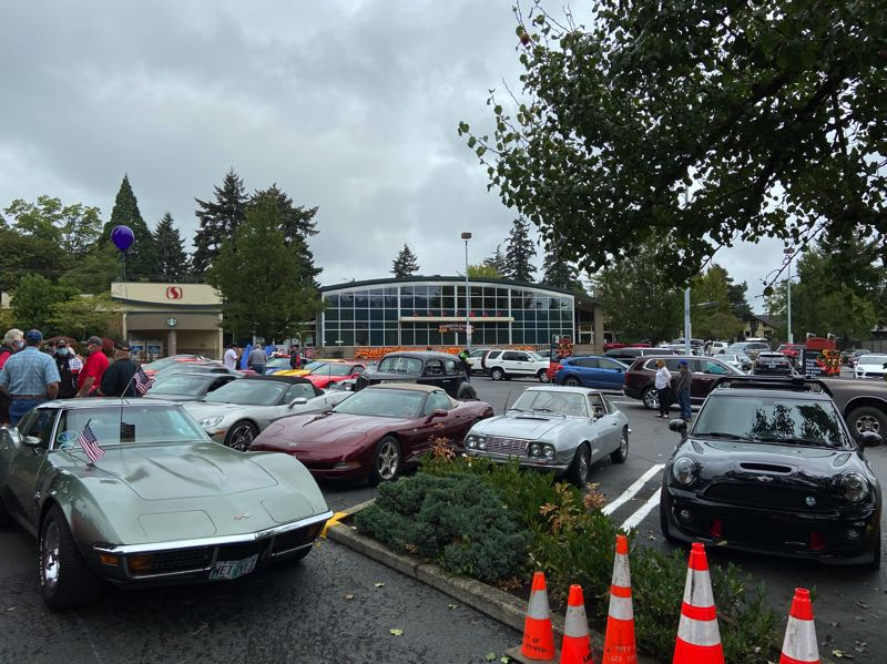 COURTESY PHOTO: PHILIP QUINTON-COX - The car tour will begin at the downtown Safeway. Pictured here is a photo from the 2019 car tour.