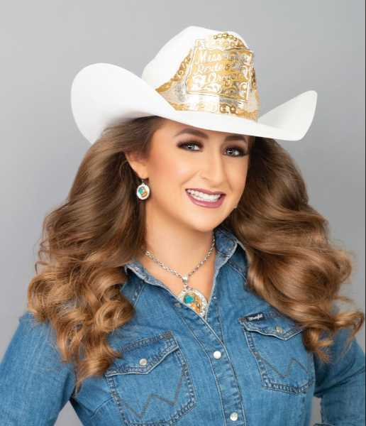 COURTESY PHOTO: SAMANTHA HENRICKS/LAS VEGAS IMAGE STUDIO - Reigning Miss Rodeo Oregon Samantha Henricks will compete for the Miss Rodeo America crown in Las Vegas at the end of November.