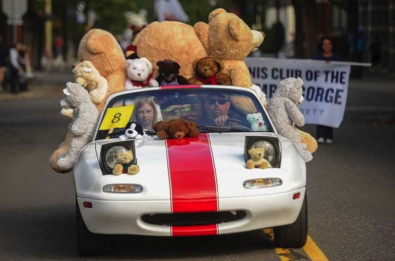 PMG FILE PHOTO - The 2021 Gresham Teddy Bear Parade had to be canceled due to COVID.