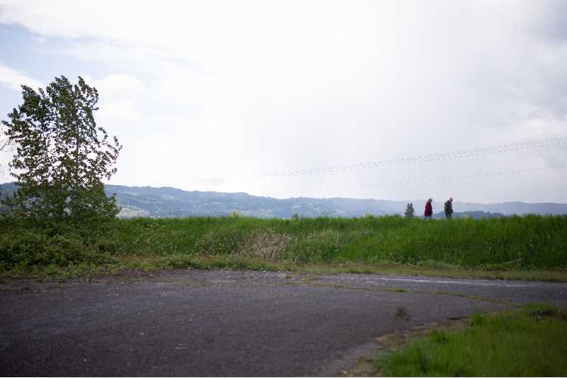 PMG PHOTO: ANNA DEL SAVIO - The Crown Zellerbach Trail starts at Chapman Landing outside Scappoose.