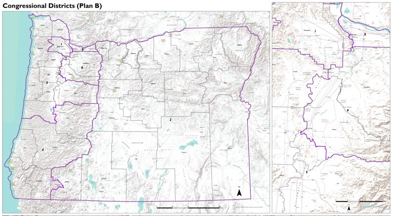 COURTESY PHOTO: OLIS - The city of Wilsonville will likely be in the new sixth congressional district and the City Council wants to be there with West Linn.
