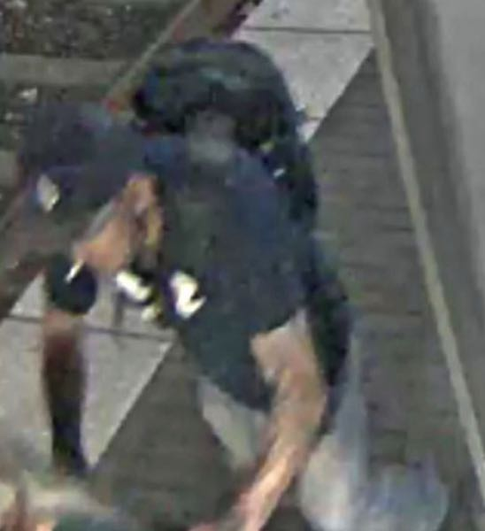 COURTESY PHOTO: CCSO - The unidentified suspect seen pushing the woman in her mobility scooter.