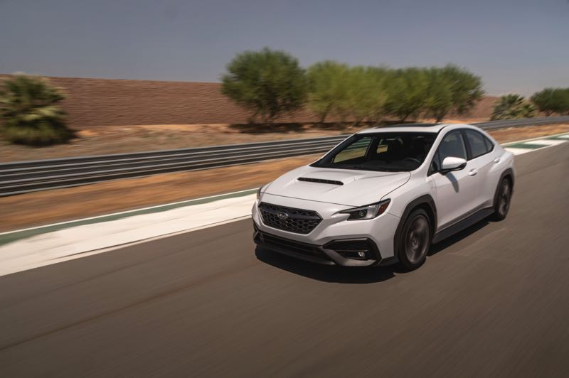 PMG PGOTO: JEFF ZURSCHMEIDE - The new Subaru WRX will be arriving in showrooms soon. If you've enjoyed any of the previous four generations, book a test drive now.