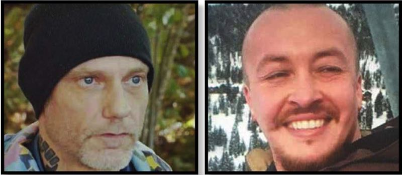 CONTRIBUTED PHOTOS - Michael Reinoehl (left) and Aaron Danielson