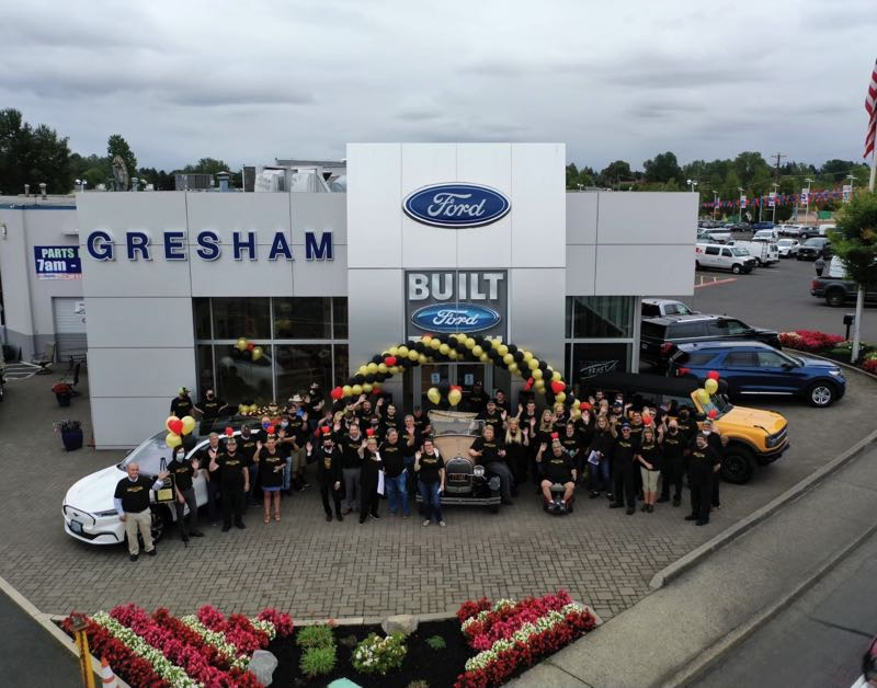 COURTESY PHOTO: GRESHAM FORD - Gresham Ford received the Presidents Award during a ceremony Friday afternoon, Sept. 10.