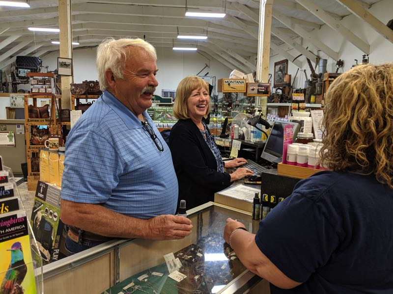 PMG FILE PHOTO - Les and Kathy Geren have owned and operated Geren's Farm Supply in Boring for 40 years.