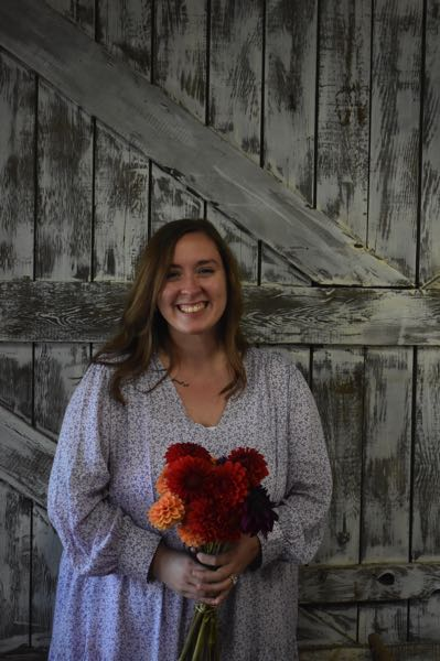 PMG PHOTO: EMILY LINDSTRAND - Aubrey Frank is the owner of Country Blooms and Co. in Estacada.