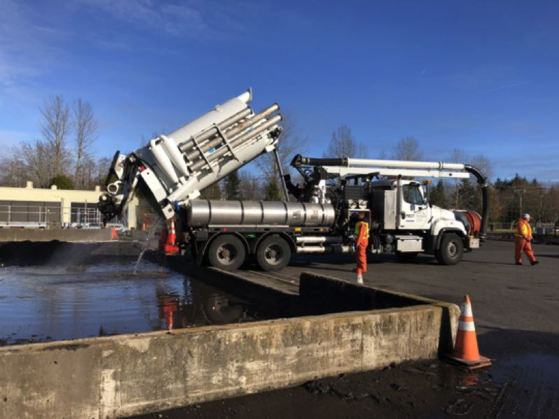 COURTESY PHOTO: CITY OF PORTLAND - Sewer maintenance requires vehicles with special pumps and tools, and repair work on them has been delayed.