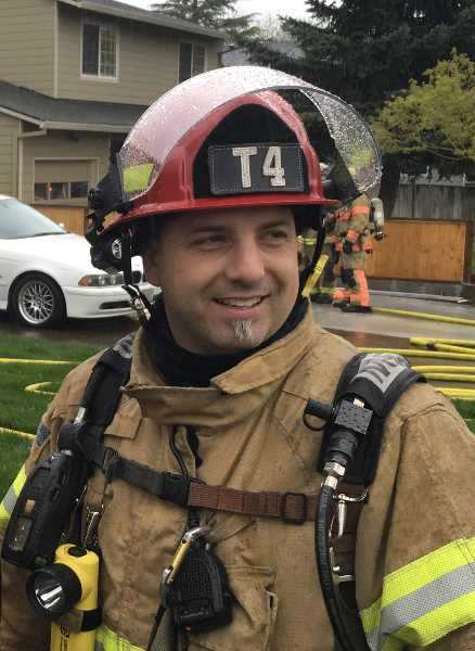 FOREST GROVE FIRE & RESCUE - Captain Rick Ilg passed away from brain cancer Sunday.
