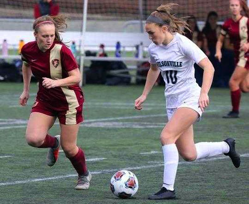 COURTESY PHOTO: NORM MAVES JR. - Wilsonville's Lindsey Antonson scored 87 goals in her first three seasons and is hoping to lift her team to its first state championship in 2021.