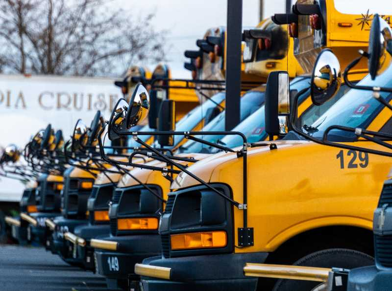 COURTESY PHOTO: UNSPLASH  - Reynolds School District official said it would take months before the damaged buses can be reparied.