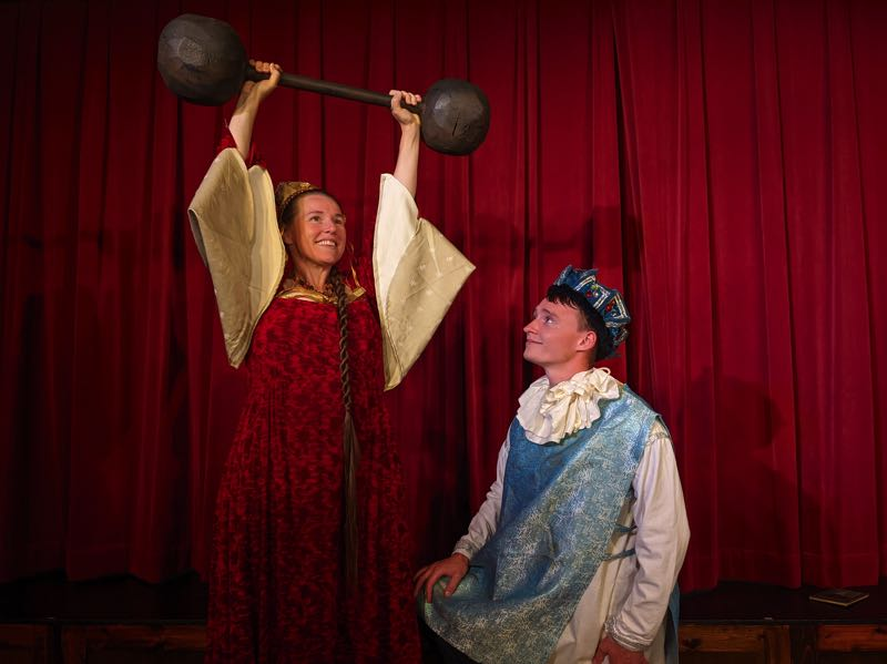 COURTESY PHOTO: NUTZ-N-BOLTZ THEATER CO. - Nutz-n-Boltz Theater Co. will open Once Upon a Mattress Friday, Sept. 24, with COVID precautions.