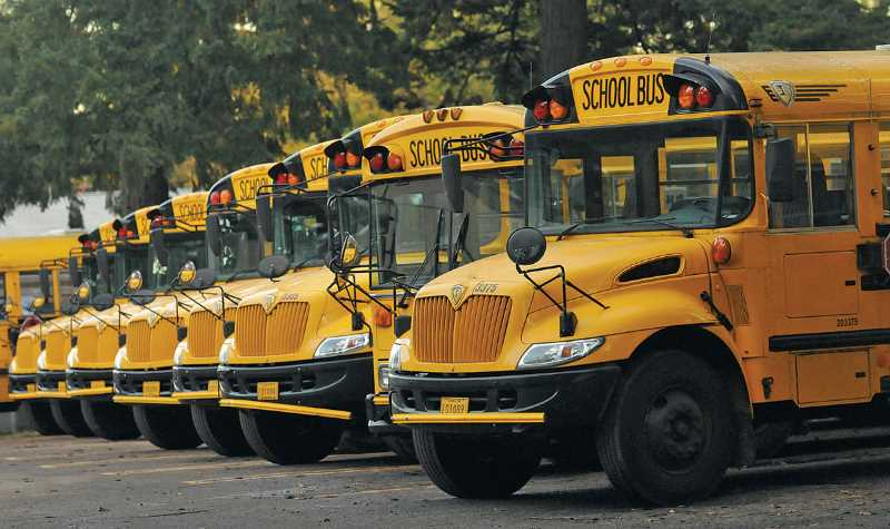 PMG FILE PHOTO - Like many school districts across the country, Lake Oswego is facing a shortage of bus drivers as the 2021-22 school year begins.
