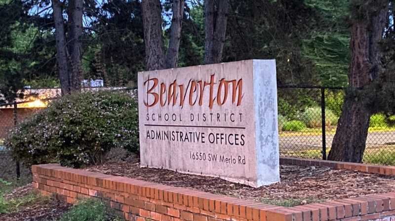 KOIN FILE PHOTO - Beaverton School District Administrative Offices