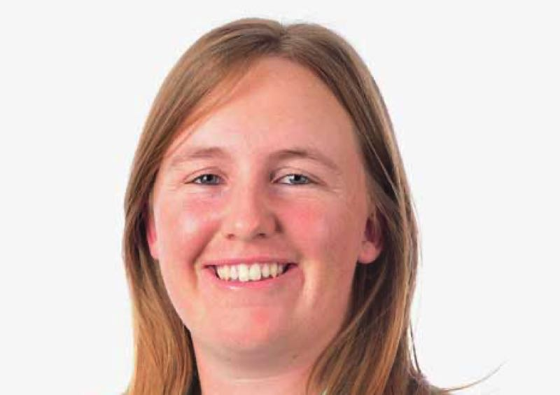 COURTESY LPGA - At 4 under par, Gemma Drubaugh of Scotland is one of three leaders after the first day of the LPGA Cambia Portland Classic.