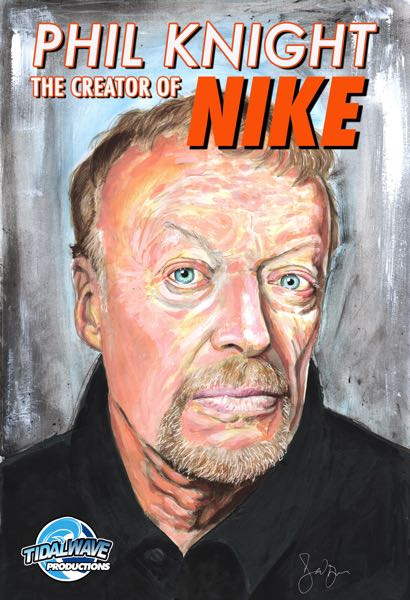 COURTESY PHOTO: TIDALWAVE - Nike co-founder Phil Knight is featured in a new comic book biography.