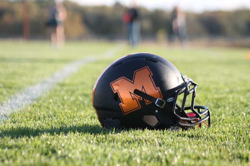 PMG FILE PHOTO: CONNER WILLIAMS - Molalla football fell to Astoria in a 12-7 loss Friday, Sept. 17.