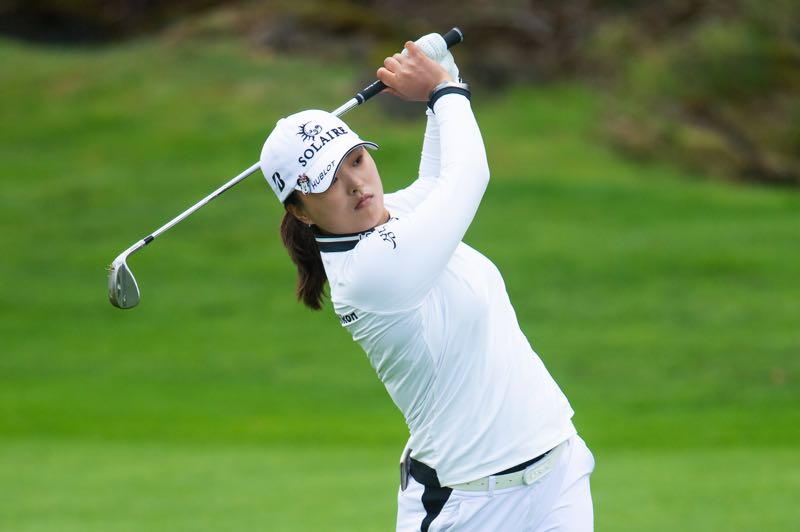 PMG PHOTO: CHRISTOPHER OERTELL - Jin Young Ko took the lead in the second round of the LPGA Cambia Portland Classic and, after rain forced cancellation of the third round, she put away the field on Sunday, Sept. 19.