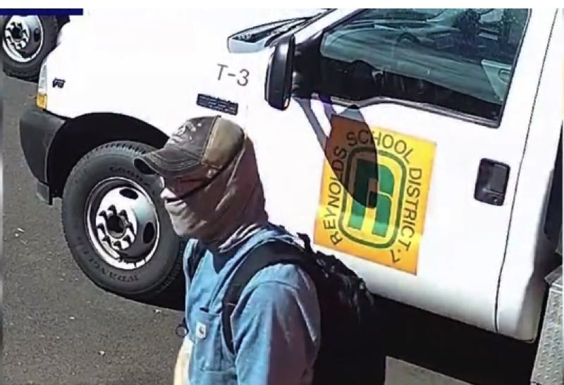 KOIN 6 NEWS PHOTO - Authorities have released a photo of the suspected thief.