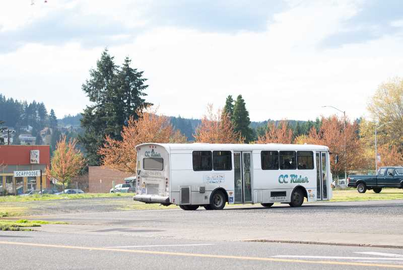 PMG FILE PHOTO - Large buses have proven inefficient for CC Rider due to low ridership, so the county transit department cut some lines and added more Dial-a-Ride service.