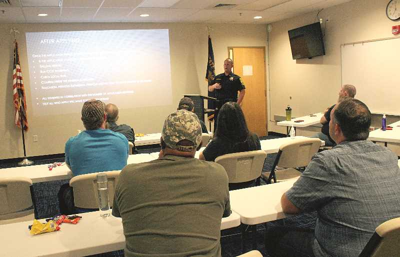 Citizens learn the ropes of law enforcement