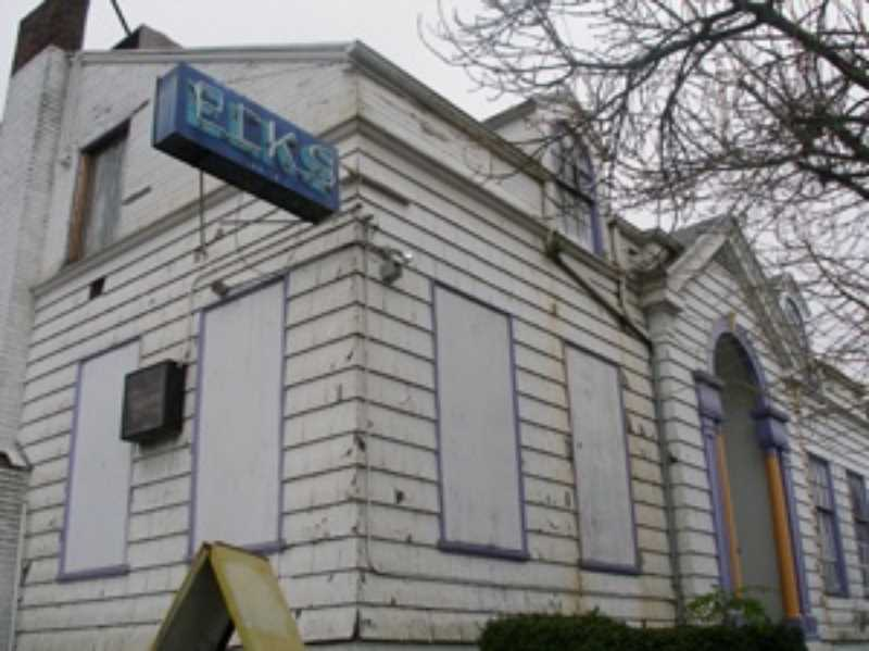 COURTESY PHOTO: RESTORE OREGON - The historic Billy Webb Elks lodge at North Tillamook Street and Williams Avenue in 2005.