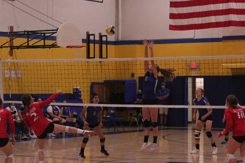 Gervais volleyball beats Kennedy for first time in eight years