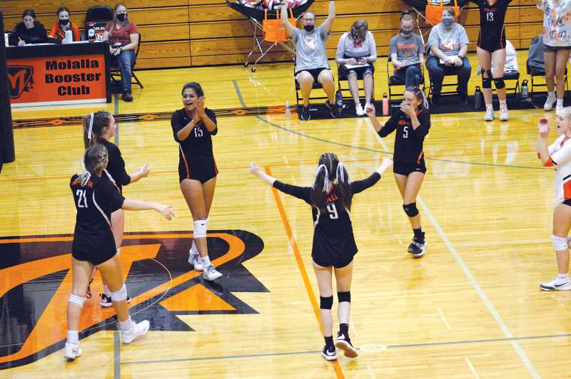 Molalla opens league play with 3 wins on the sping