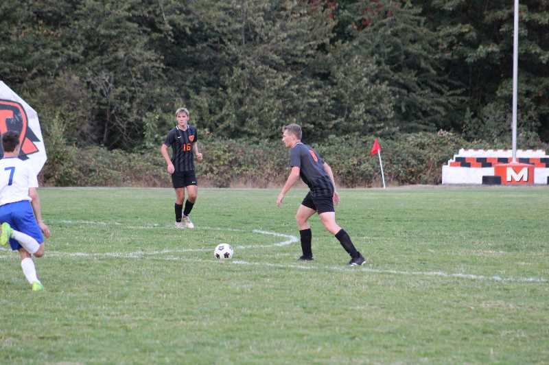 Molalla boys open league with two wins
