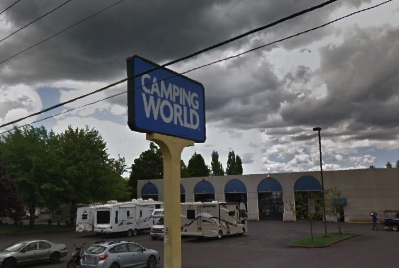 Camping World takes down flagpole, will negotiate on fine
