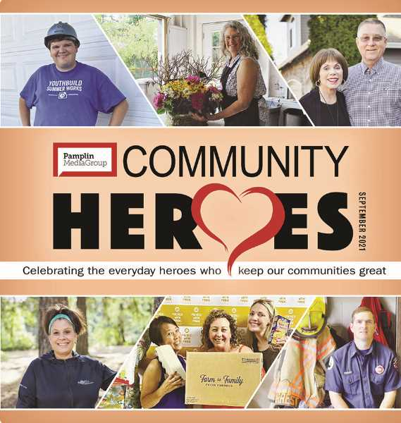 PMG PHOTO - Pamplin Media Group is taking the opportunity to honor the region's best volunteers with its 2021 Community Heroes special section.