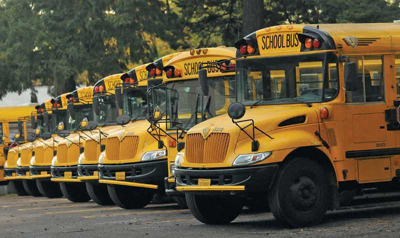 PMG FILE PHOTO - Woodburn and Gervais school districts, like many others statewide, are hoping more school bus drivers become available.