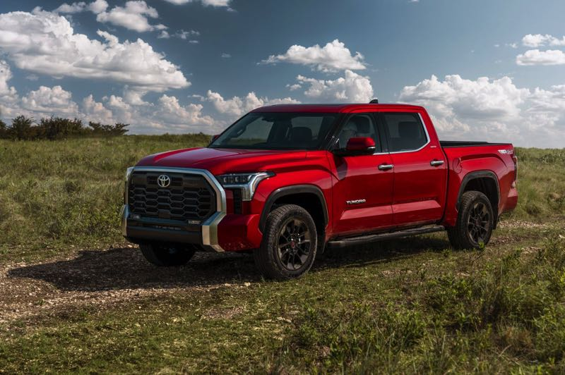 COURTESY PICTURE: TOYOTA - The all-new 2022 Toyota Tundra is available with two different four-door cabs, three bed lengths, and either rear- or four-wheel drive.