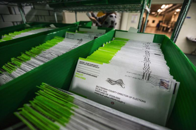 PMG FILE PHOTO - Ballots ready to be counted in a recent election.