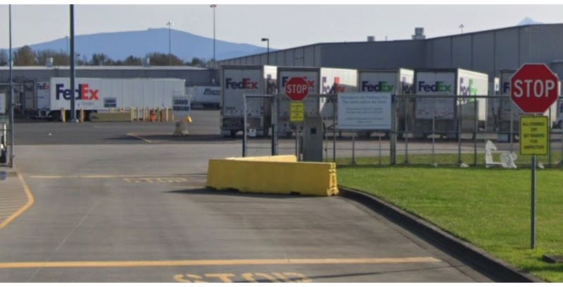 COURTESY: GOOGLE MAPS - The FedEx distribution center in Troutdale is shown here.